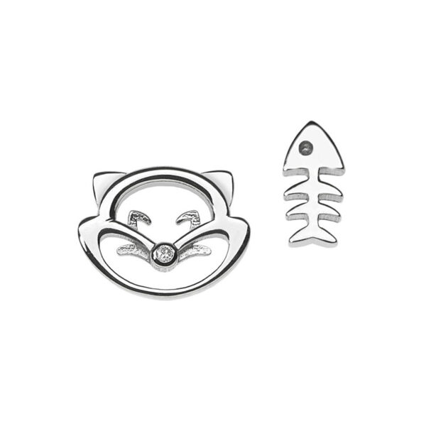 orecchini comete gatto