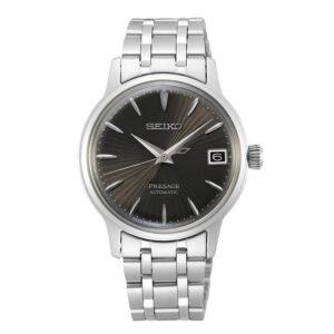 orologio da donna nero acciaio elegante