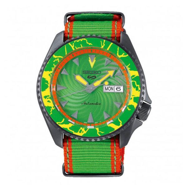 orologio seiko street fighter blanka verde