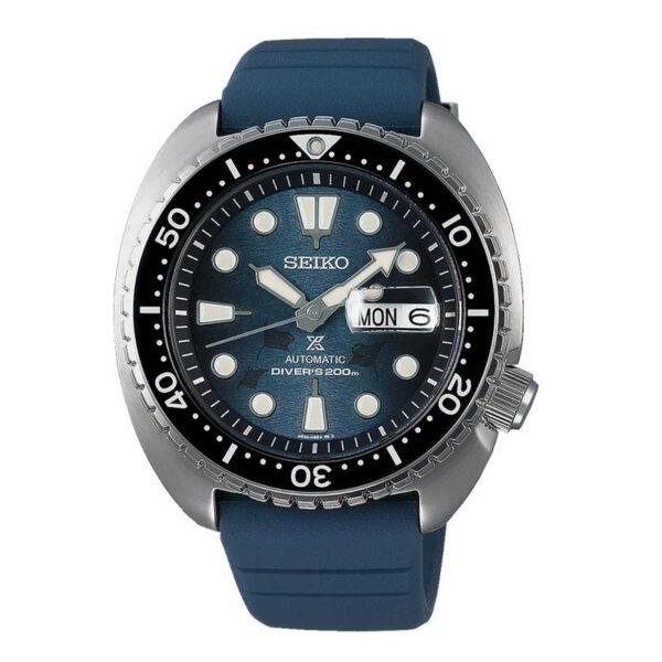 orologio seiko diver prospex save the ocean mante gomma blu