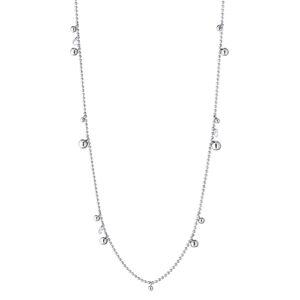 collana lunga argento bollicine tipo dodo