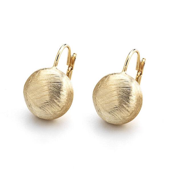 orecchini pendento argento dorato marcello pane