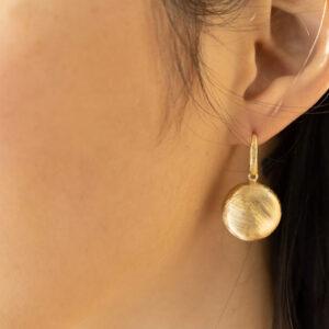 orecchini pendenti donna argento oro giallo