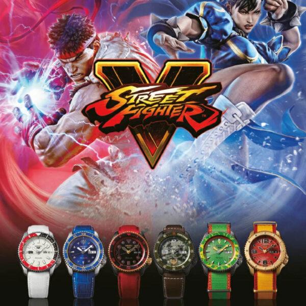 set orologi seiko street fighter edizione limitata