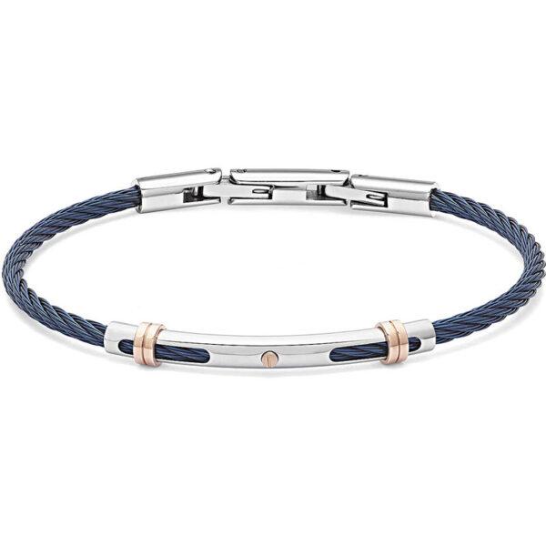 bracciale-cavetto-acciaio-blu-regolabile-uomo-comete-gioielli-wire-ubr-954
