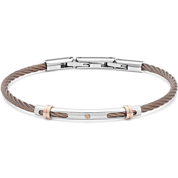 bracciale-cavetto-acciaio-ramato-regolabile-uomo-comete-gioielli-wire-ubr-955