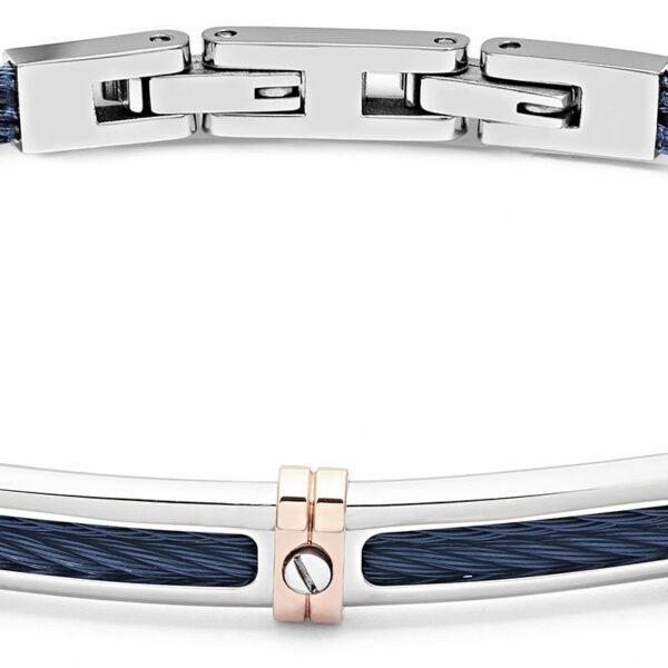 bracciale-cavetto-piastra-acciaio-blu-regolabile-uomo-comete-gioielli-wire-ubr-958