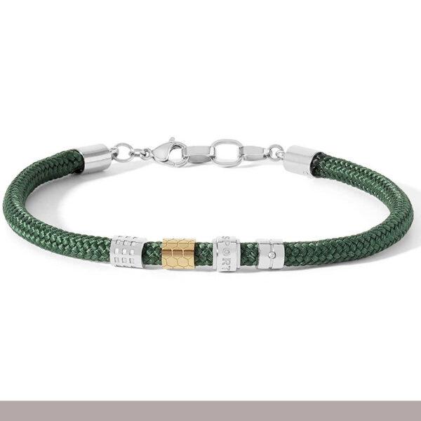 bracciale-corda-verde-militare-acciaio-regolabile-uomo-comete-passioni-gioielli-ubr-833