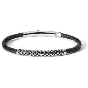 bracciale-gomma-nero-acciaio-uomo-regolabile-comete-gioielli-net-ubr-622
