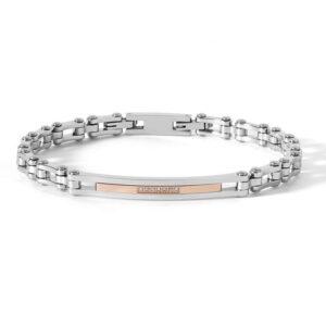 bracciale-uomo-acciaio-zirconi-rosa-gioielli-comete-nipper-ubr-662