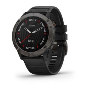 Garmin-Fenix-6-Sapphire-Black-silicone-sensore-pulseOX-010-02157-11