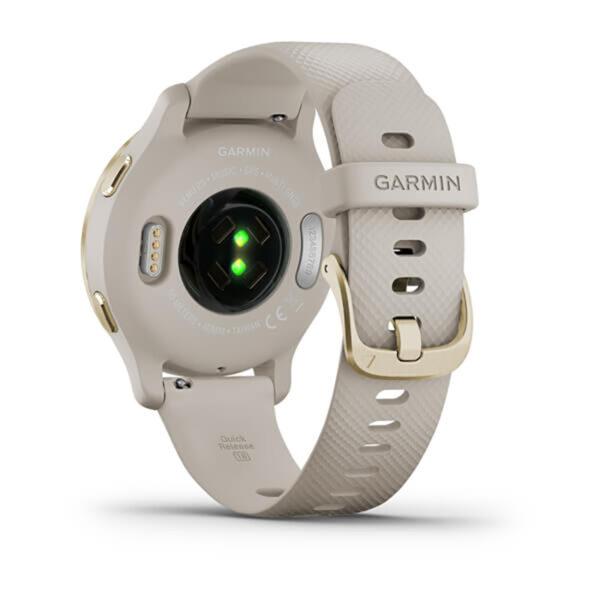 Garmin-Venu-2S-Oro-Giallo-silicone-light-sand-fitness-010-02429-11