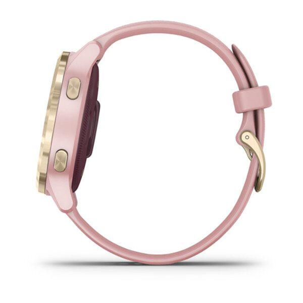 Smartwatch-Garmin-Vivoactive-4S-Oro-Rosa-Silicone-fitness-Cardio-010-02172-32