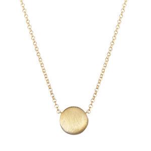 collana con buole in argento dorato marcello pane