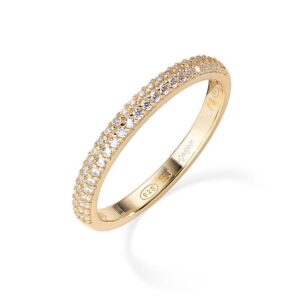 anello fedina eternella amen oro giallo