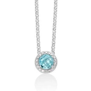 collana donna argento gemma del cielo miluna